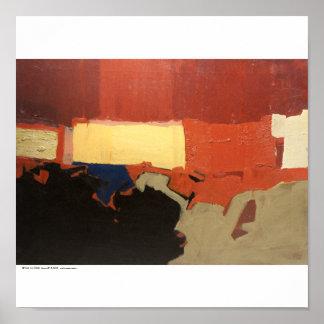 """Poster/Print: """"Landscape:Etude"""" Poster"""