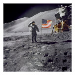 Poster/Print: Man on Moon - NASA 1969