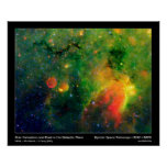 Poster/Print:  Star Formation and Cosmic Dust Poster