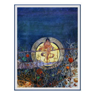 Poster/Print; The Harvest Moon
