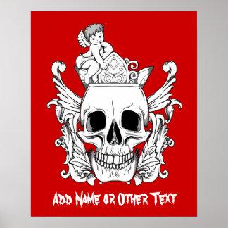 Poster/Print: The Skull Poster