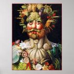 Poster/Print: Vertumnus (Portrait of Rudolf II)
