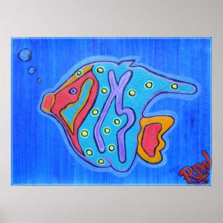 Poster Print-Vibrant Tropical Fish
