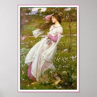 Poster/Print: Windflowers - by John Waterhouse Poster