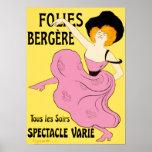 Poster/Prints: Folies Bergère - Leonetto Cappiello Poster