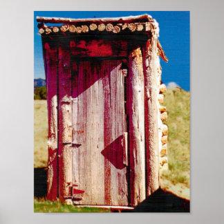 Poster privado del cuarto de baño 8 5x11 de la dep