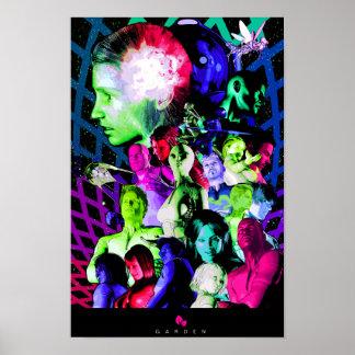 Poster promocional 11x17 del JARDÍN
