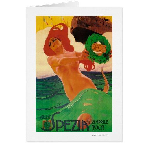 Poster promocional de Alla Spezia Tarjeta