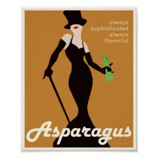 Poster promocional de Aspargus - 8x10