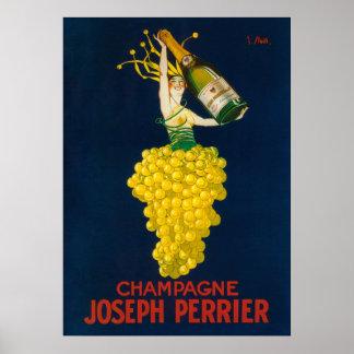 Poster promocional de José Perrier Champán