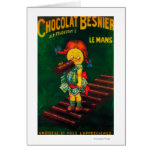 Poster promocional del chocolate de Besnier Felicitación