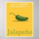 Poster promocional del Jalapeno - 11x14