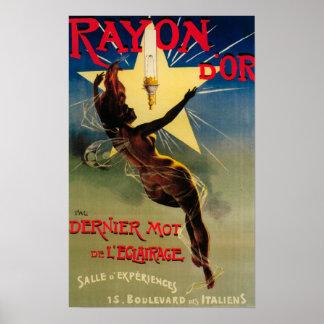 Poster promocional del restaurante de D'Or del ray