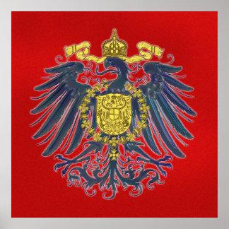 Poster prusiano de Eagle
