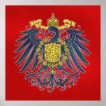 Poster prusiano de Eagle Póster