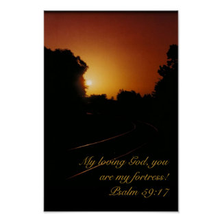 Poster - Psalm 59:17