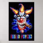 Poster psico del payaso