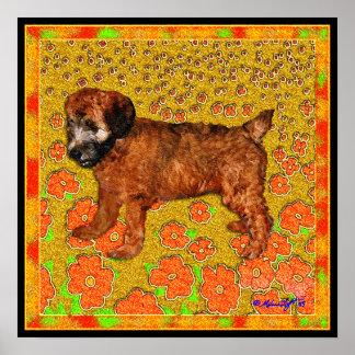 Poster: Puppy in Garden