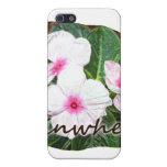 Poster Purple Pinwheel Flowers w text Cases For iPhone 5