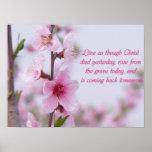 Poster que dice cristiano