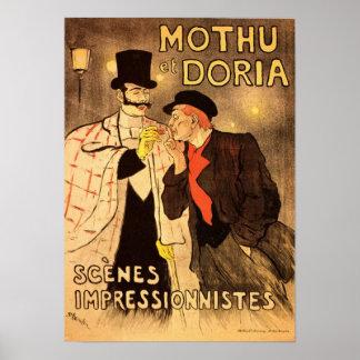 Poster que fuma de Alejandro Theophile Steinlen