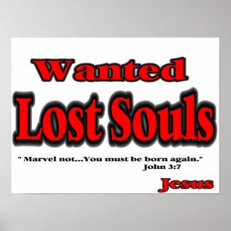 Poster que gana del alma póster