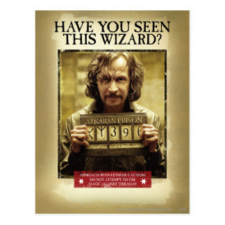 Poster querido negro de Sirius Tarjetas Postales