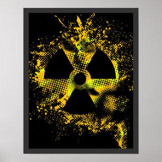 Poster radiactivo de la apocalipsis $17,95