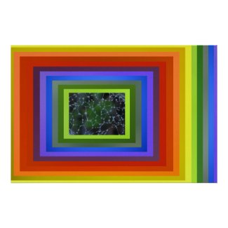 Poster - Rainbow Abstract