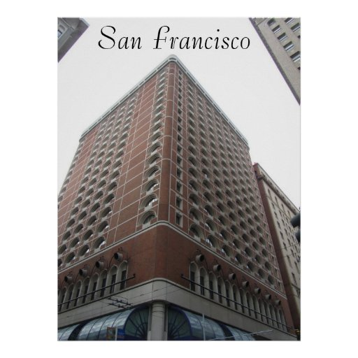 Poster - rascacielos de San Francisco