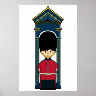 Poster real británico del guardia