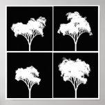 Poster recurrente de los árboles
