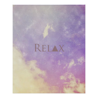 Poster.... Relax Poster