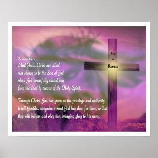 Poster religioso de Pascua - Jesús - lo suben