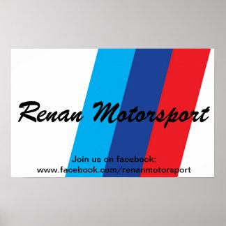 Poster Renan Motorsport