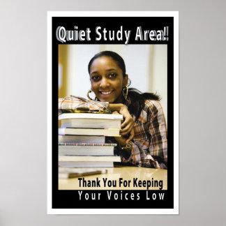 Poster reservado de la biblioteca académica del ár