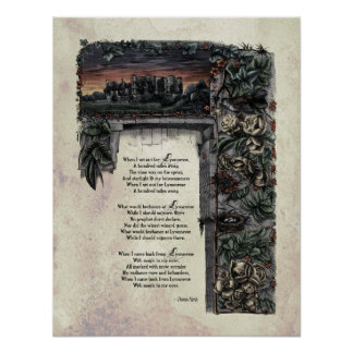 """Poster resistente del arte del Victorian de """"Lyonn"""
