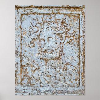 Poster: Retrato antiguo del Bacchus