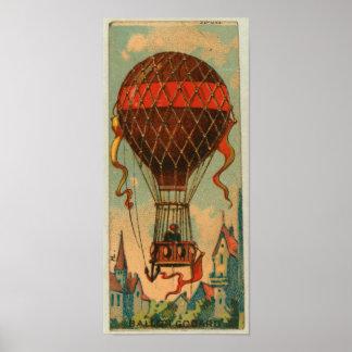 Poster retro de Godard del impulso