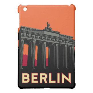 poster retro del viaje del art déco de Berlín iPad Mini Funda