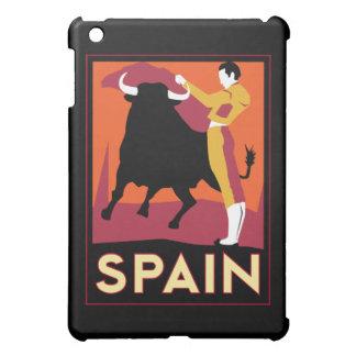 poster retro del viaje del art déco de España iPad Mini Carcasas