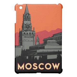 poster retro del viaje del art déco de Moscú iPad Mini Protectores
