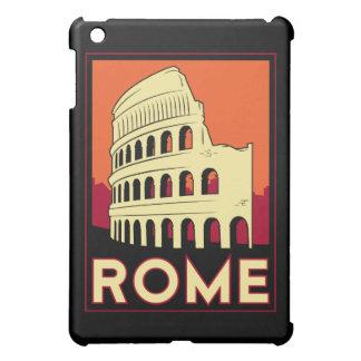 poster retro del viaje del art déco de Roma iPad Mini Cobertura