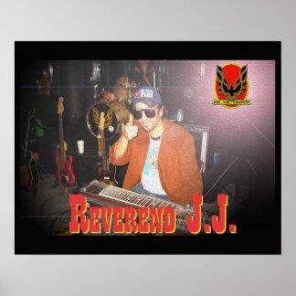Poster reverendo de la tina de JJ