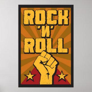 "Poster ""Rock N' Roll"
