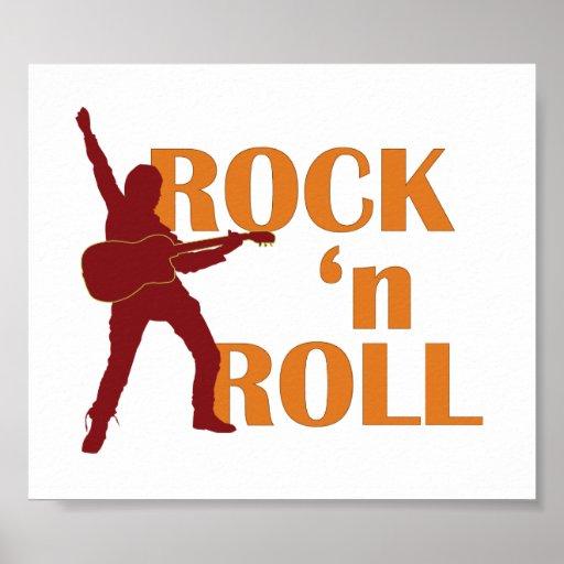 poster - Rock 'n Roll (music design)