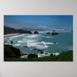 Poster rocoso de la costa 36 x 24
