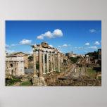 Poster romano del foro