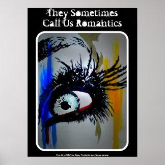 """Poster """"romántico"""""""