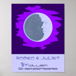 Poster Romeo y Juliet Shakespeare del juego del